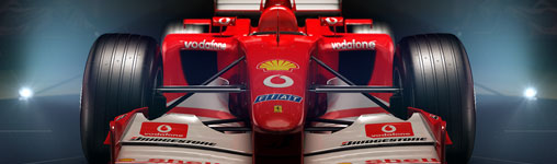 Vier Ferrari-Ikonen im Spiel