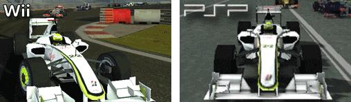 Brawn BGP001 in der Wii und PSP - Version