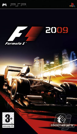 F1 2009 PSP-Cover