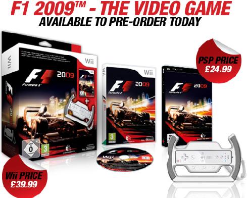 F1 2009 Vorbestellung