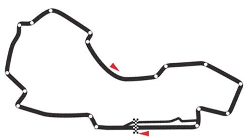 Albert Park Circuit - Melbourne / Australien