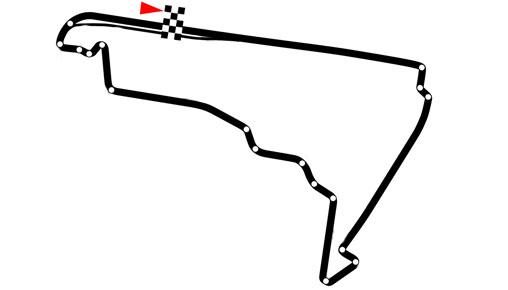 Autódromo Hermanos Rodríguez - Mexiko-Stadt / Mexiko