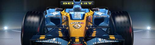 Renault R26 dabei