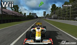 Renault R29 in der Wii-Version