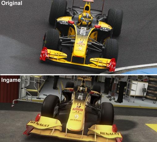 Vergleich des Renault
