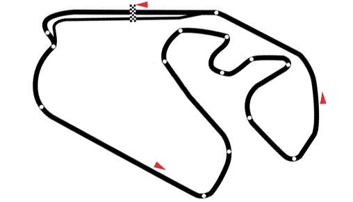 Autódromo José Carlos Pace - São Paulo / Brasilien
