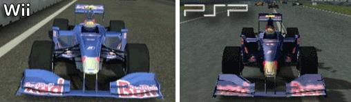 Toro Rosso STR4 in der Wii und PSP - Version