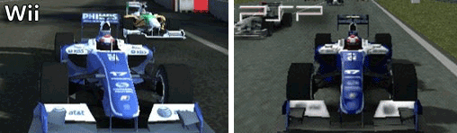 Williams FW31 in der Wii und PSP - Version