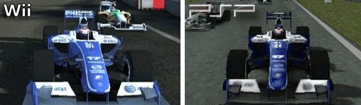 Williams FW31 in der Wii und PSP - Version
